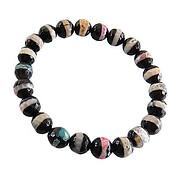 دستبند عقیق رنگی جذاب زنانه