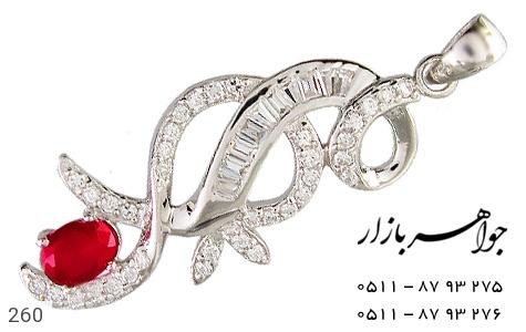 عکس مدال تـایلنـدی درشت طرح یاقوت زنانه