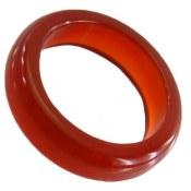 انگشتر عقیق قرمز حلقه سنگی