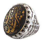 انگشتر نقره حدید یا حضرت عباس رکاب طرح ضریح مردانه