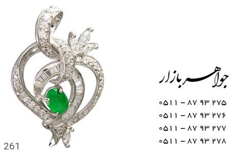 عکس مدال جید طرح قلب درشت زنانه