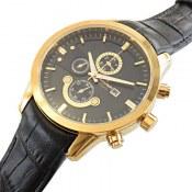 ساعت بند چرمی مردانه Romanson