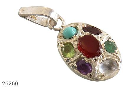 عکس مدال نقره چندنگین هفت سنگ درمانی زنانه