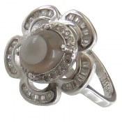انگشتر نقره عقیق زنانه