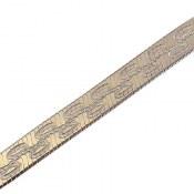 زنجیر نقره 40 سانتی طرح هاله زنانه