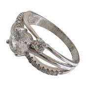 انگشتر نقره سنتاتیک طرح پرنسس زنانه