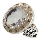 انگشتر در نجف درشت الماس تراش دوربرلیان اصل مردانه