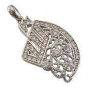مدال نقره طرح پرنسس زنانه