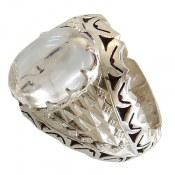 انگشتر نقره در نجف درشت شاهانه مردانه