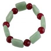 دستبند فلورین و عقیق جذاب زنانه