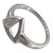 انگشتر نقره طرح ستاره زنانه