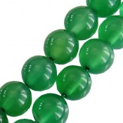 تسبیح عقیق 33 دانه سبز شفاف