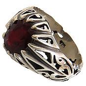 انگشتر یاقوت سرخ مرغوب مردانه