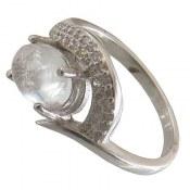 انگشتر نقره در نجف طرح گلرخ زنانه