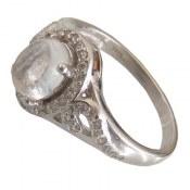 انگشتر نقره در نجف طرح مهستی زنانه