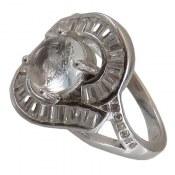 انگشتر نقره در نجف طرح فرخنده زنانه
