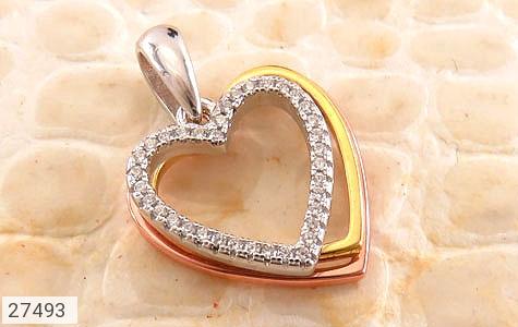 عکس مدال نقره طرح قلب عشق زنانه