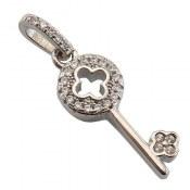 مدال نقره طرح کلید زنانه