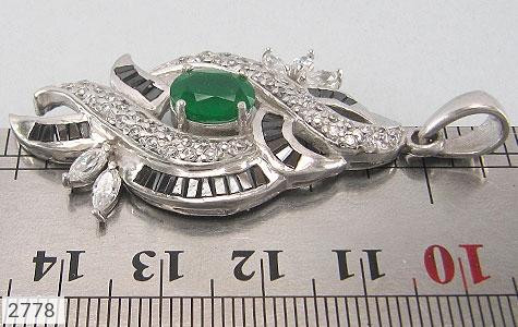 عکس مدال نقره درشت طرح مجلسی زنانه