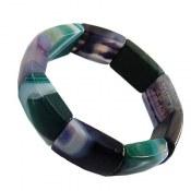 دستبند عقیق طرح شایسته زنانه