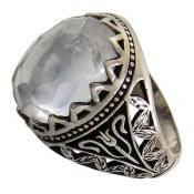 انگشتر نقره در نجف مرغوب دامله مردانه