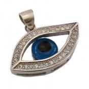 مدال نقره طرح چشم زنانه