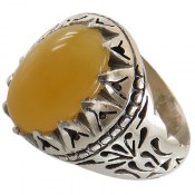 انگشتر نقره اپال ارزشمند مردانه