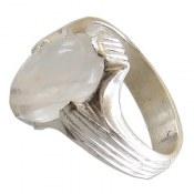 انگشتر نقره در نجف طرح چهارچنگ مردانه