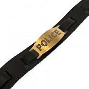 دستبند چرم طبیعی Police