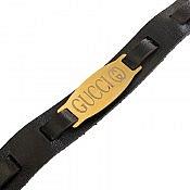دستبند چرم طبیعی طرح گوچی زیبا و جذاب