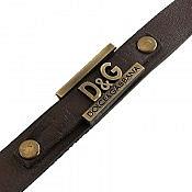 دستبند چرم طبیعی D G