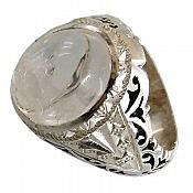 انگشتر نقره در نجف خوش نقش و فاخر مردانه