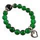دستبند جید سبز خوش رنگ زنانه