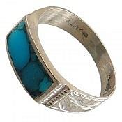 انگشتر نقره فیروزه صفوی ارزشمند