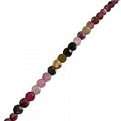 دستبند نقره تورمالین جذاب و خوش رنگ زنانه