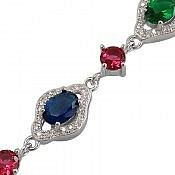دستبند نقره زیبا و جذاب زنانه