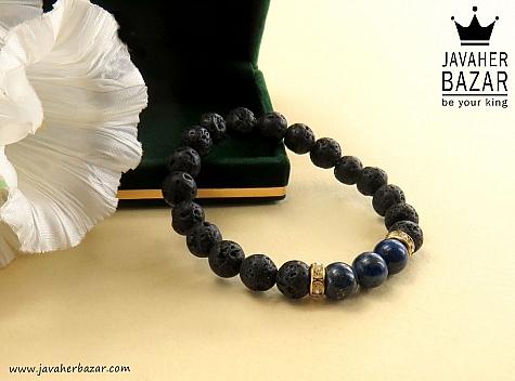 دستبند لاوا و لاجورد جذاب زنانه - 30467