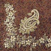 ترمه رومیزی ابریشم حسینی