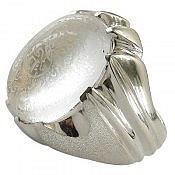 انگشتر نقره در نجف حکاکی زیارت عاشورا فاخر مردانه