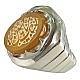 انگشتر نقره عقیق یمن مرغوب حکاکی لبیک یا حسین مردانه