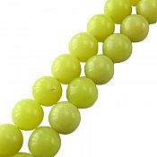 تسبیح جید 33 دانه سبز خوش رنگ وزیبا