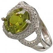 انگشتر نقره زولتنایت زیبا و خوش رنگ زنانه
