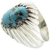 انگشتر نقره فیروزه نیشابوری ارزشمند مردانه