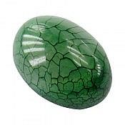 نگین تک عقیق سبز خوش رنگ