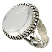 انگشتر نقره در نجف شفاف و زیبا مردانه