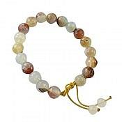 دستبند عقیق طرح هانا زنانه