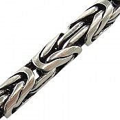 زنجیر نقره 45 سانتی طرح ماری