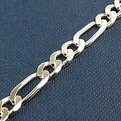 زنجیر نقره 51 سانتی لوکس