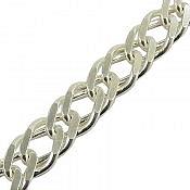 زنجیر نقره 46 سانتی