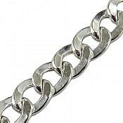 زنجیر نقره 56 سانتی